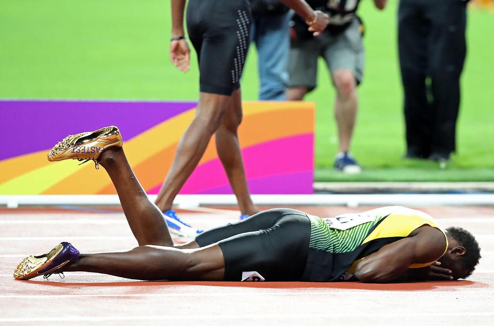 רצה לפרוש כבלתי מנוצח. בולט (צילום: AFP) (צילום: AFP)