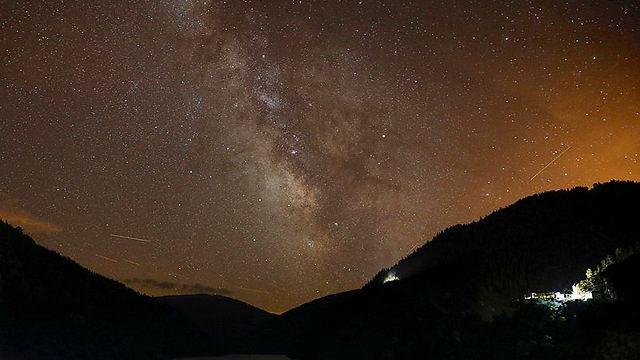 השמים הכתומים של ספרד (צילום: רויטרס)