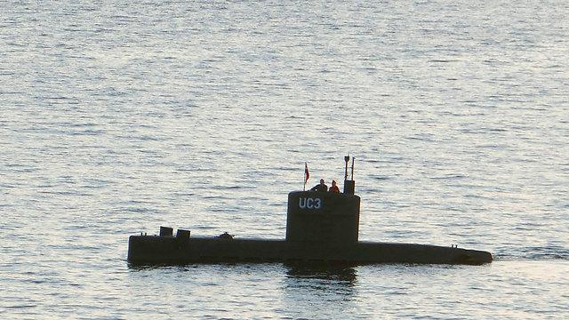 הצוללת UC3 Nautilus. שמונה בני אדם, 17 מטר (צילום: AFP)