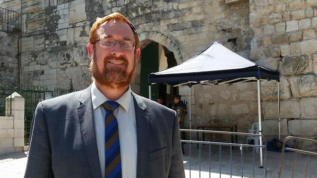Likud MK Yehuda Glick said he was strongly considering attending the protest (Photo: Eli Mendelbaum)