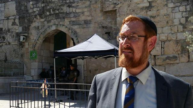 Yehuda Glick (Photo: Eli Mendelbaum)