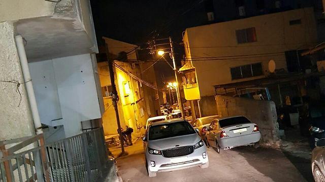 The police raid. Mahajina, Umm al-Fahm