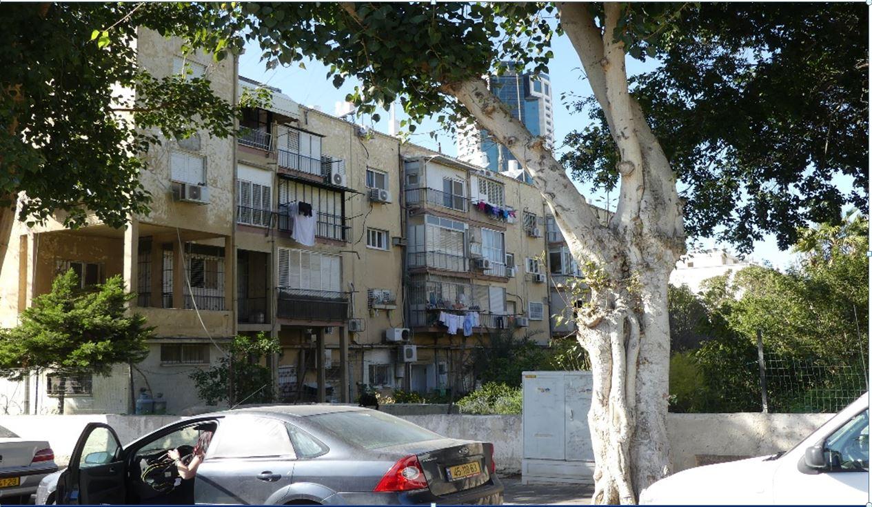 הבניינים שייהרסו (צילום: באדיבות החברה להתחדשות עירונית) (צילולם: באדיבות החברה להתחדשות עירונית) (צילולם: באדיבות החברה להתחדשות עירונית)
