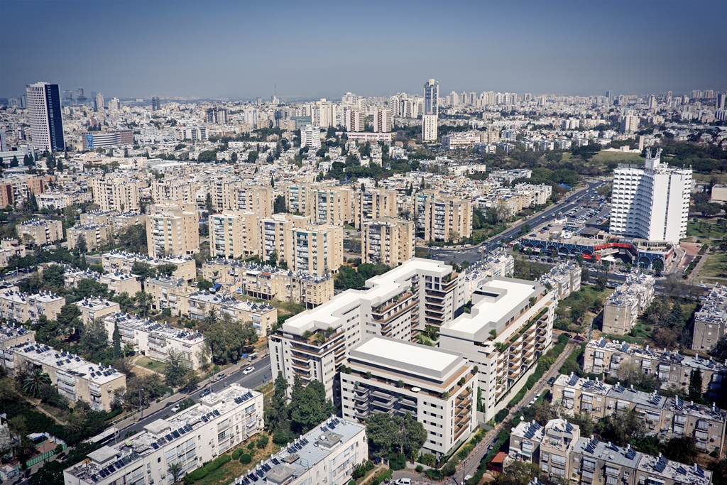 הדמיה של פרויקט NEXT TLV (צילולם: באדיבות החברה להתחדשות עירונית) (צילולם: באדיבות החברה להתחדשות עירונית)