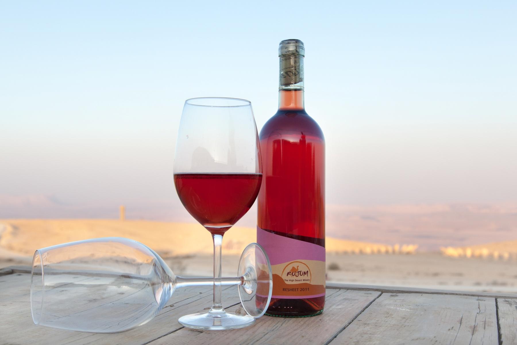 יין באמצע המדבר: יקב רוג'ום (צילום: חיים רביה)