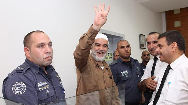 Salah at court (Photo: Motti Kimchi)