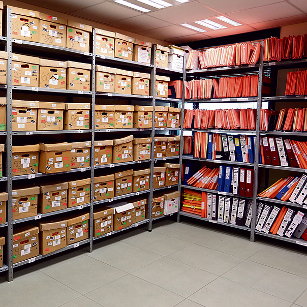 ארכיון המדינה. צוות מוגבר עמל בשנים האחרונות על סריקת עשרות מיליוני מסמכים