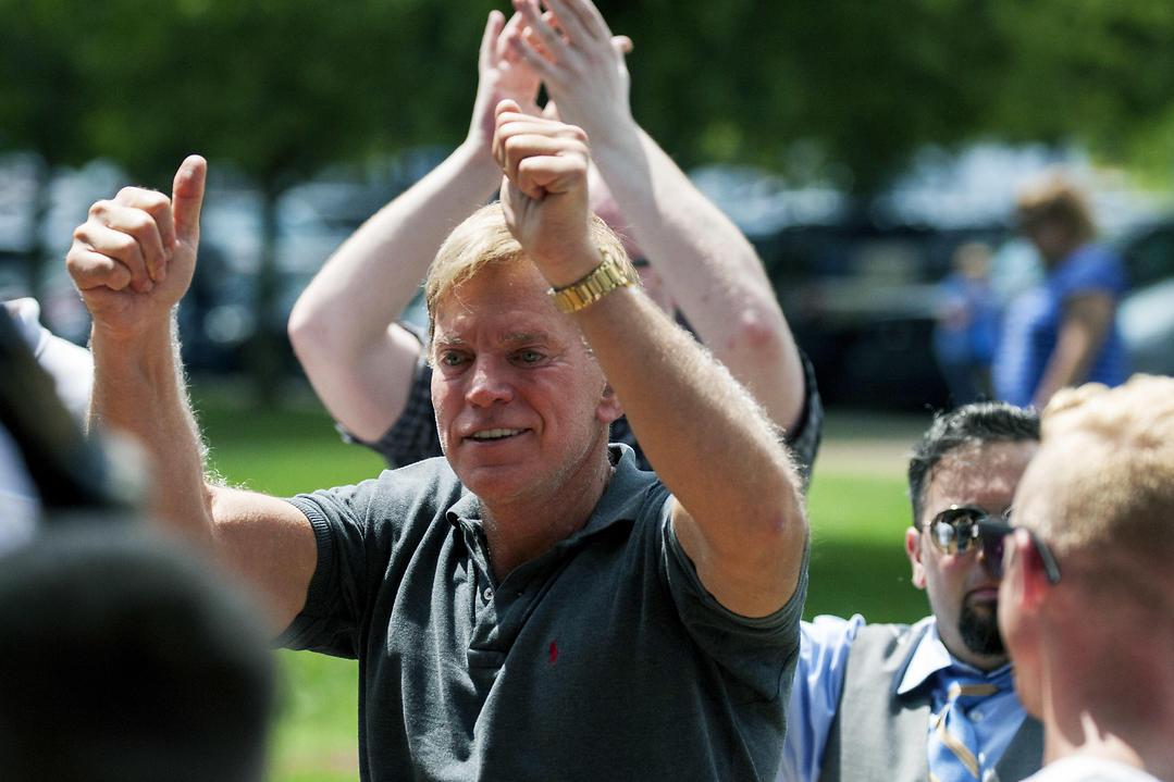 Former Ku Klux Klan leader David Duke (Photo: AP)