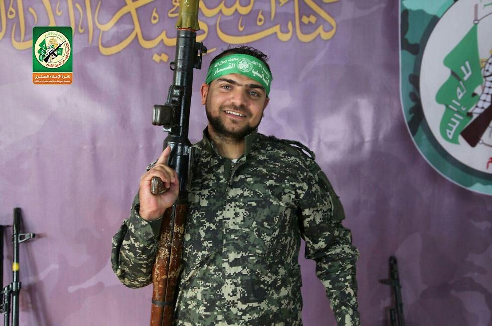 The killed Hamas commander, Nidal al-Jaafari