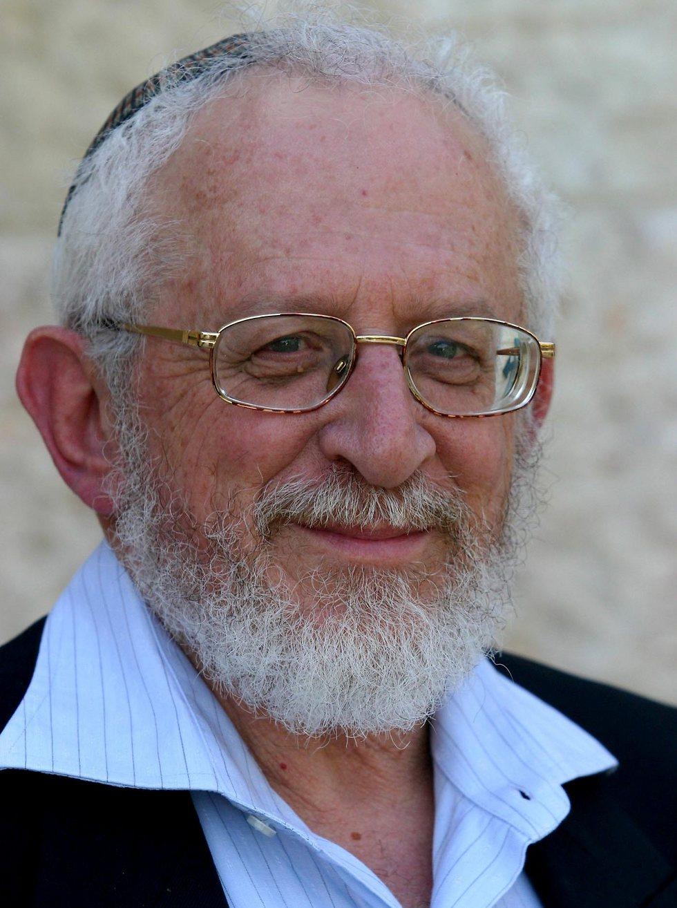 Rabbi Yisrael Rosen (Photo: Oren Cohen)