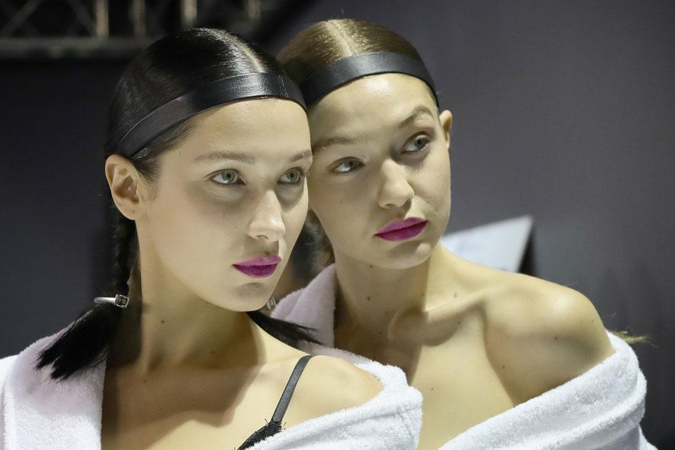 מי יפה יותר? ג'יג'י ובלה חדיד (צילום: GettyImages)