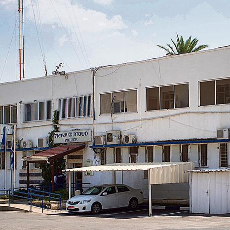 """תחנת המשטרה בבית־שאן, שבה נחקר חגי. """"עד היום לא קיבלנו מכתב או שיחת התנצלות"""""""