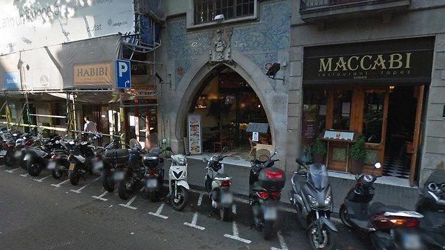 מסעדת מכבי במרכז ברצלונה ()