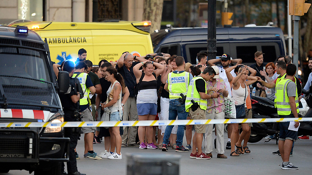 Scene of recent terror attack in Barcelona. There is no, and never will be, justification for terrorism—and to hell with political correctness (Photo: AFP)