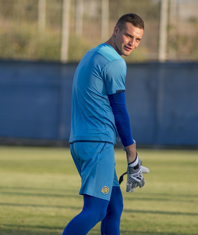 ראיקוביץ'. יכול לפנטז על עזיבה לליגה גדולה ועל דקות במונדיאל (צילום: יובל חן) (צילום: יובל חן)
