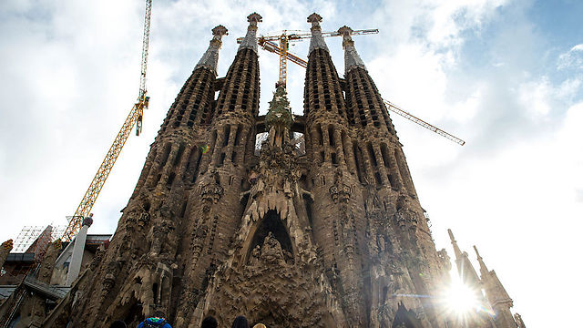 Gaudi's Sagrada Familia church in Barcelona (Photo: Getty Images)