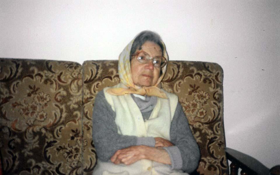 Лия Полякова в Израиле в 1990-е годы