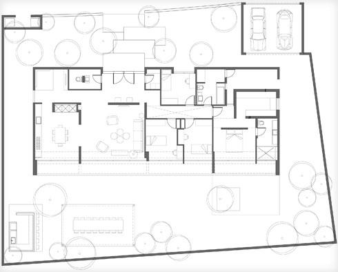 תוכנית הבית (תוכנית: אדריכל דוד קוהן - דוד קוהן אדריכלים)