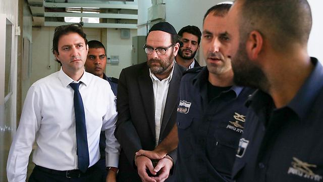 יוספי בהארכת מעצר בבית המשפט (צילום: אוהד צויגנברג)