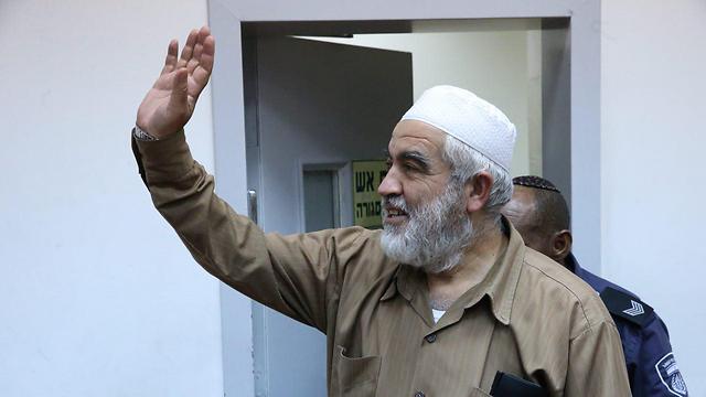 Sheikh Salah in court (Photo: Motti Kimchi) (Photo: Motti Kimchi)