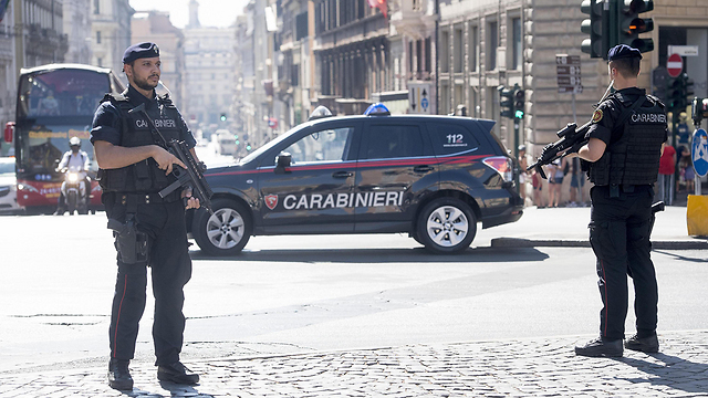 Policemen at the site of the Aug. 17 attack in Barcelona, Spain (Photo: EPA) (Photo: EPA)