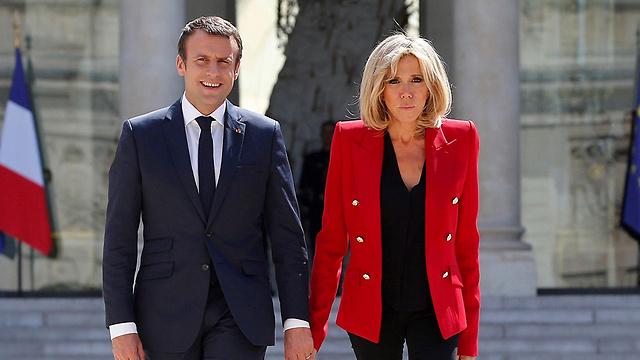 Президент с супругой. Фото: AFP