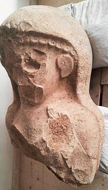 פסל האישה הקדום שנמצא בטורקיה