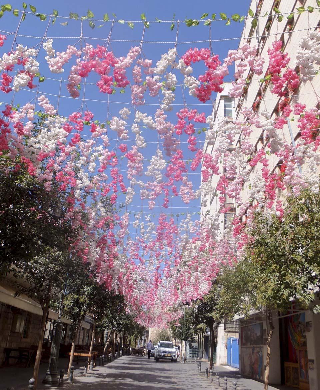 Японская улица в Иерусалиме. Фото: Леон Левитас
