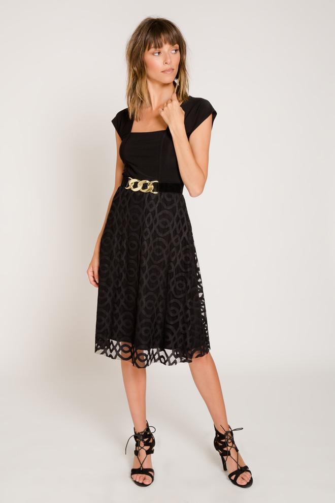 שמלה בשילוב תחרה, 339 שקל, מיקושה, שופינג לאשה