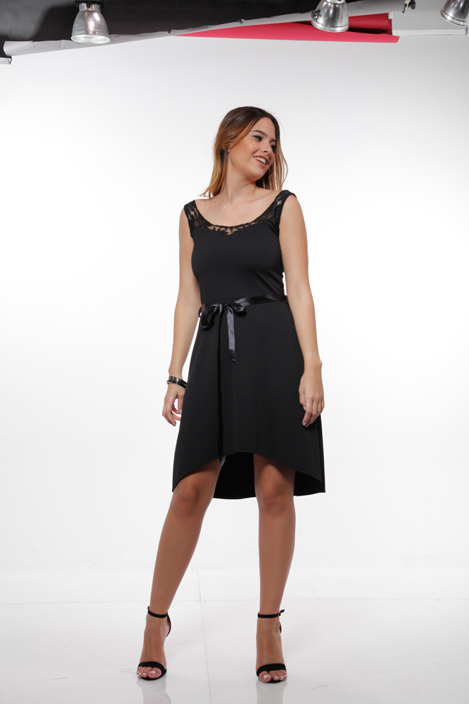 שמלה עם חגורת מותן ומחשוף גב, 99 שקל, אורלי גולן, שופינג לאשה