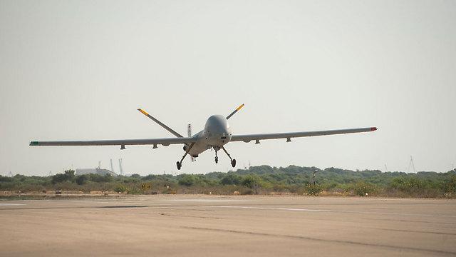 Illustrations: Israel's Kochav (Star) drone (Photo: IDF Spokesperson's Unit) (Photo: IDF Spokesperson's Unit)
