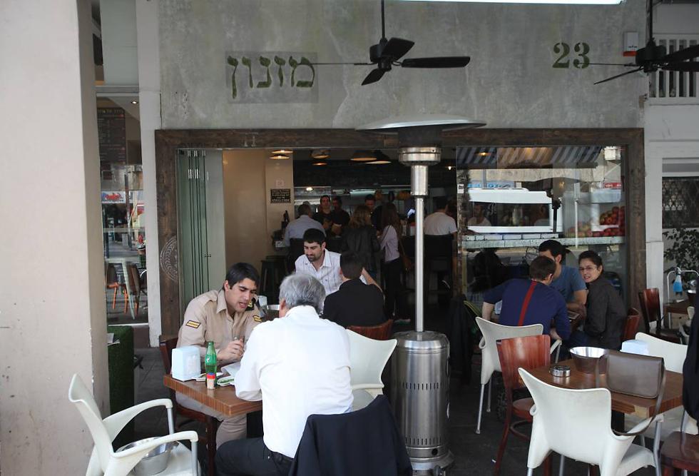 """סניף """"מזנון"""" של איל שני באבן גבירול בתל אביב (צילום: מוטי קמחי) (צילום: מוטי קמחי)"""