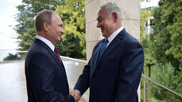 Putin and Netanyahu's last meeting in Sochi (Photo: AFP)