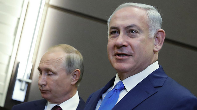 Putin (L) and Netanyahu (Photo: MCT)