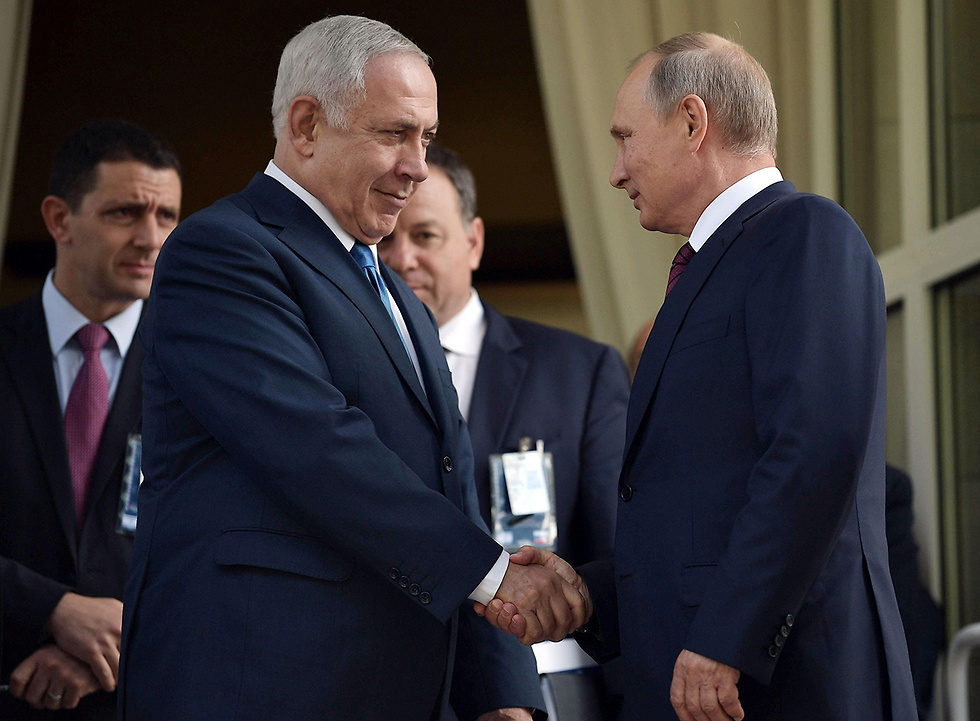Putin and Netanyahu. Russia is turning a blind eye to the Israeli bombings of Hezbollah posts  (Photo: AFP)