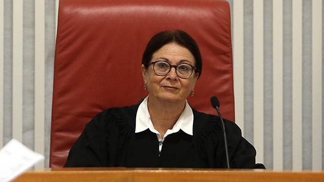 Judge Esther Hayut (Photo: Alex Kolomoisky)