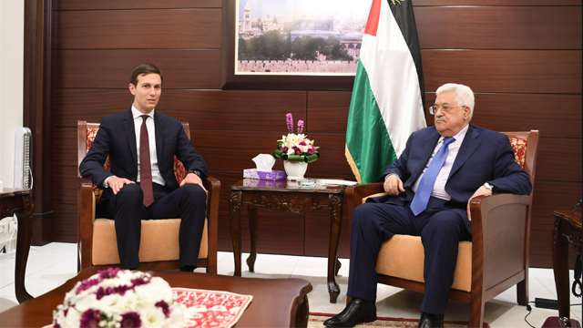 Jared Kushner and President Abbas