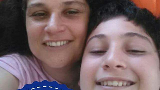 רויטל לן ובנה אלעד ()
