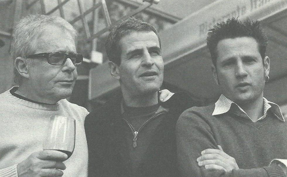 מימין לשמאל:עופר זמיר, איל שני, רפי אדר (צילום: גל דרן) (צילום: גל דרן)