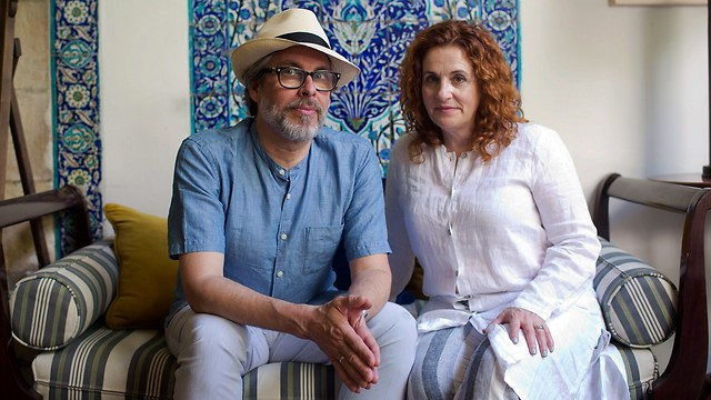 Chabon (L) and Waldman (Photo: AP)