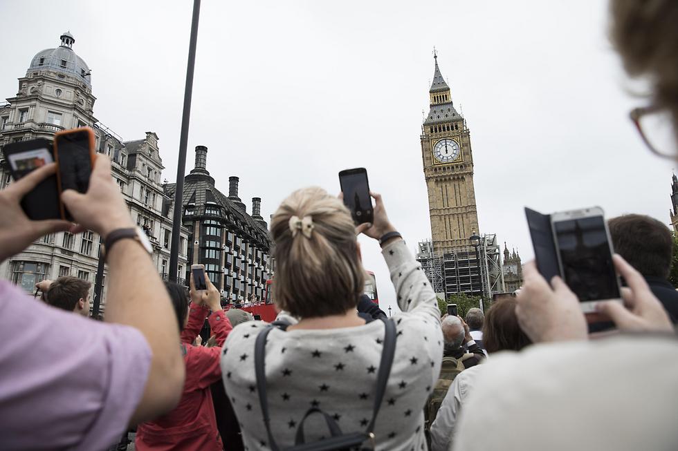 נפרדים מהביג בן בלונדון, שהפסיק ביום שני לצלצל לארבע השנים הקרובות לרגל שיפוצים (צילום: gettyimages)