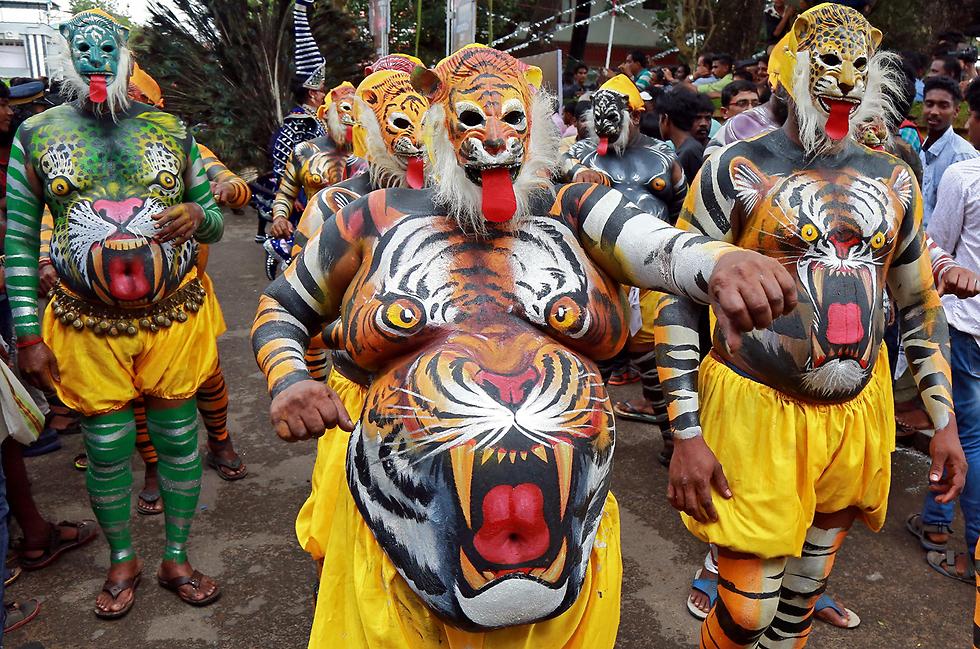 פסטיבל הקציר השנתי. קוצ'י, הודו (צילום: רויטרס)