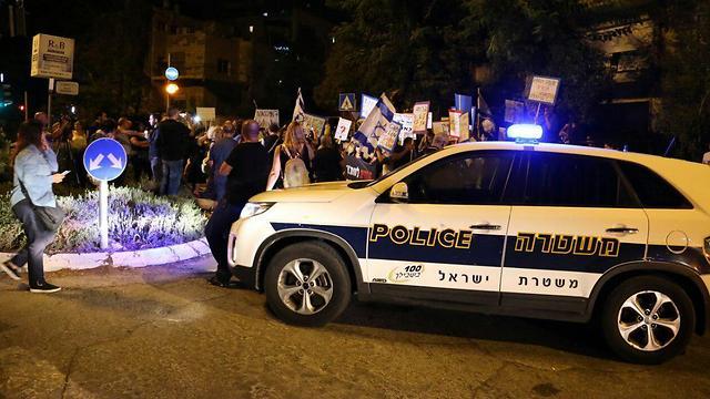 Митинг в Иерусалиме. Фото: TPS (Photo: Mati Amar, TPS)