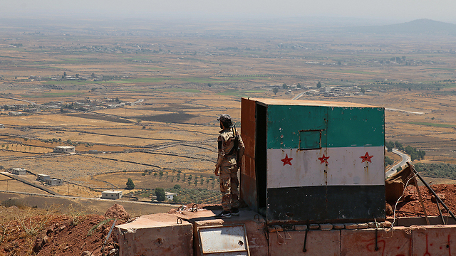 Syrian forces near Golan Heights (Photo: Reuters)