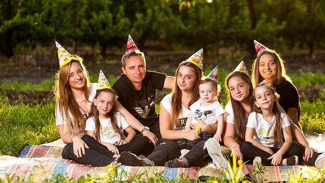 משפחת צ'רני (צילום: אלבום פרטי)