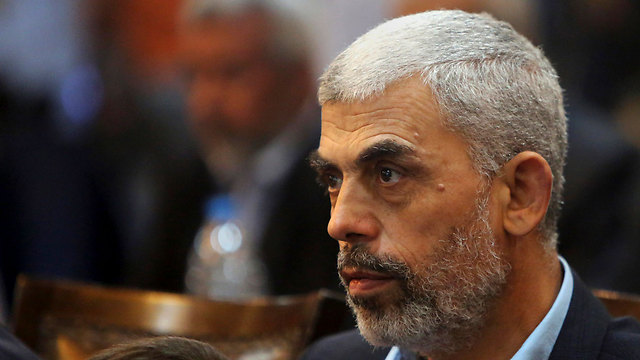 Hamas leader in Gaza, Yahya Sanwar (Photo: AP) (Photo: AP)