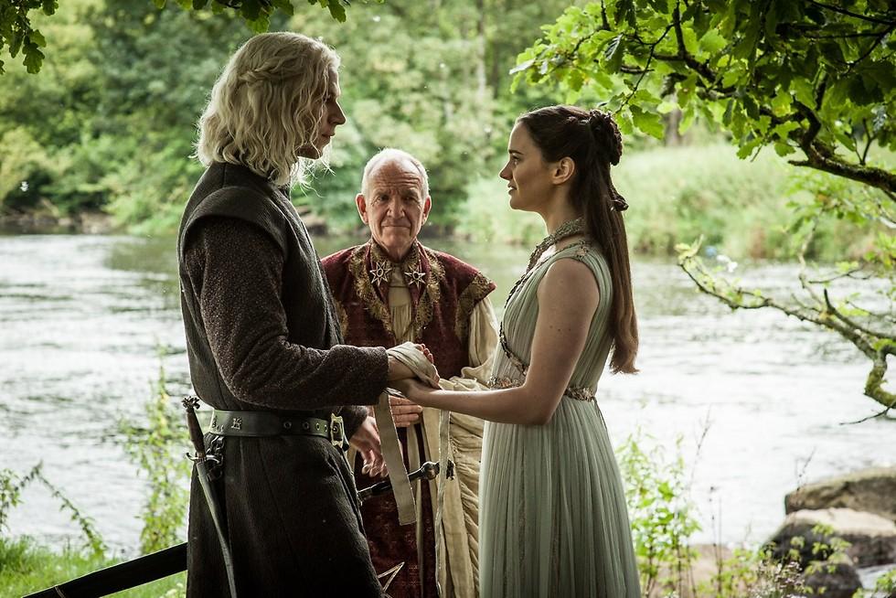 ראיגר וליאנה. נישואים כשרים (צילום: HBO) (צילום: HBO)