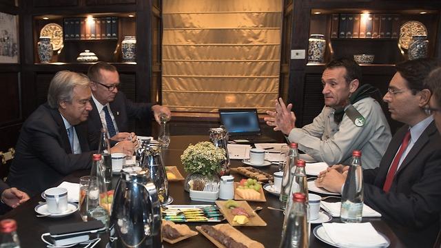 Halevi's meeting with Guterres