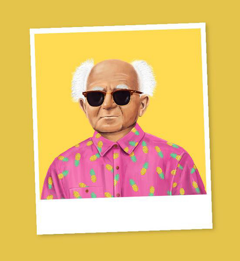 David Ben-Gurion (Illustration: Amit Shimoni)