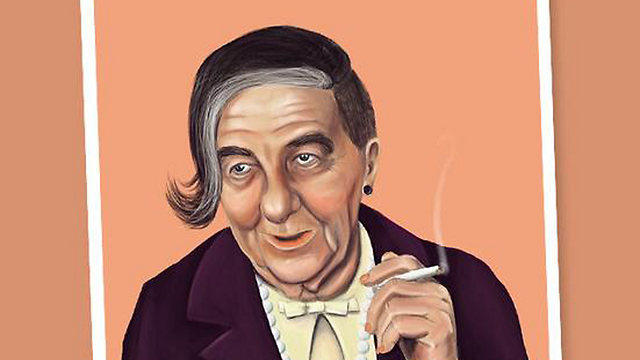 Golda Meir (Illustration: Amit Shimoni)